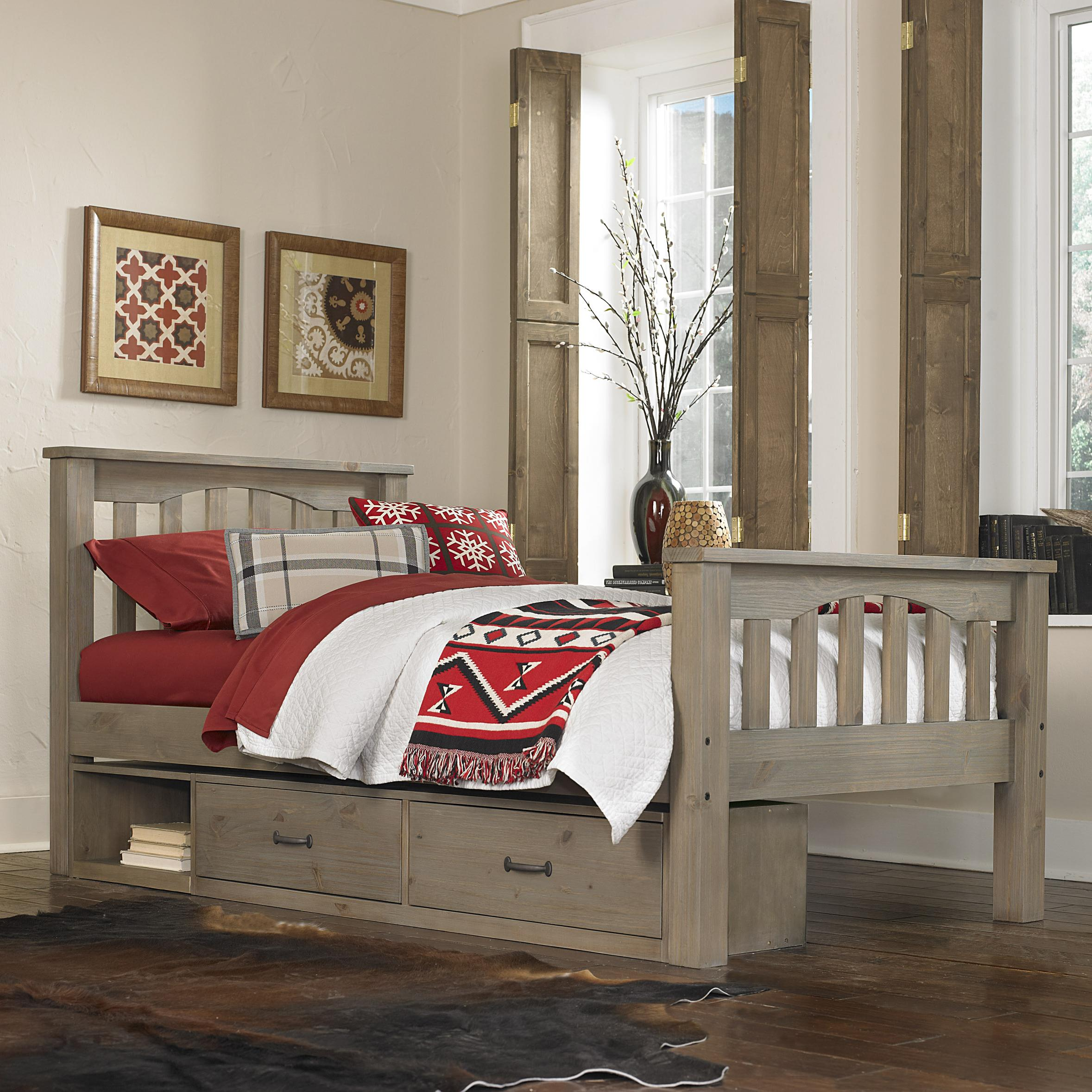 Twin Harper Bed with Storage