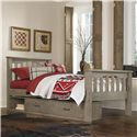 NE Kids Highlands Twin Harper Bed with Storage - Item Number: 10050+10590