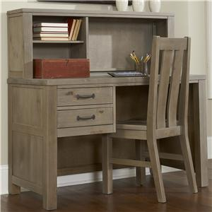 NE Kids Highlands Youth Shell Desk and Hutch