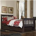 NE Kids Highlands Twin Harper Bed with Trundle - Item Number: 11050+560