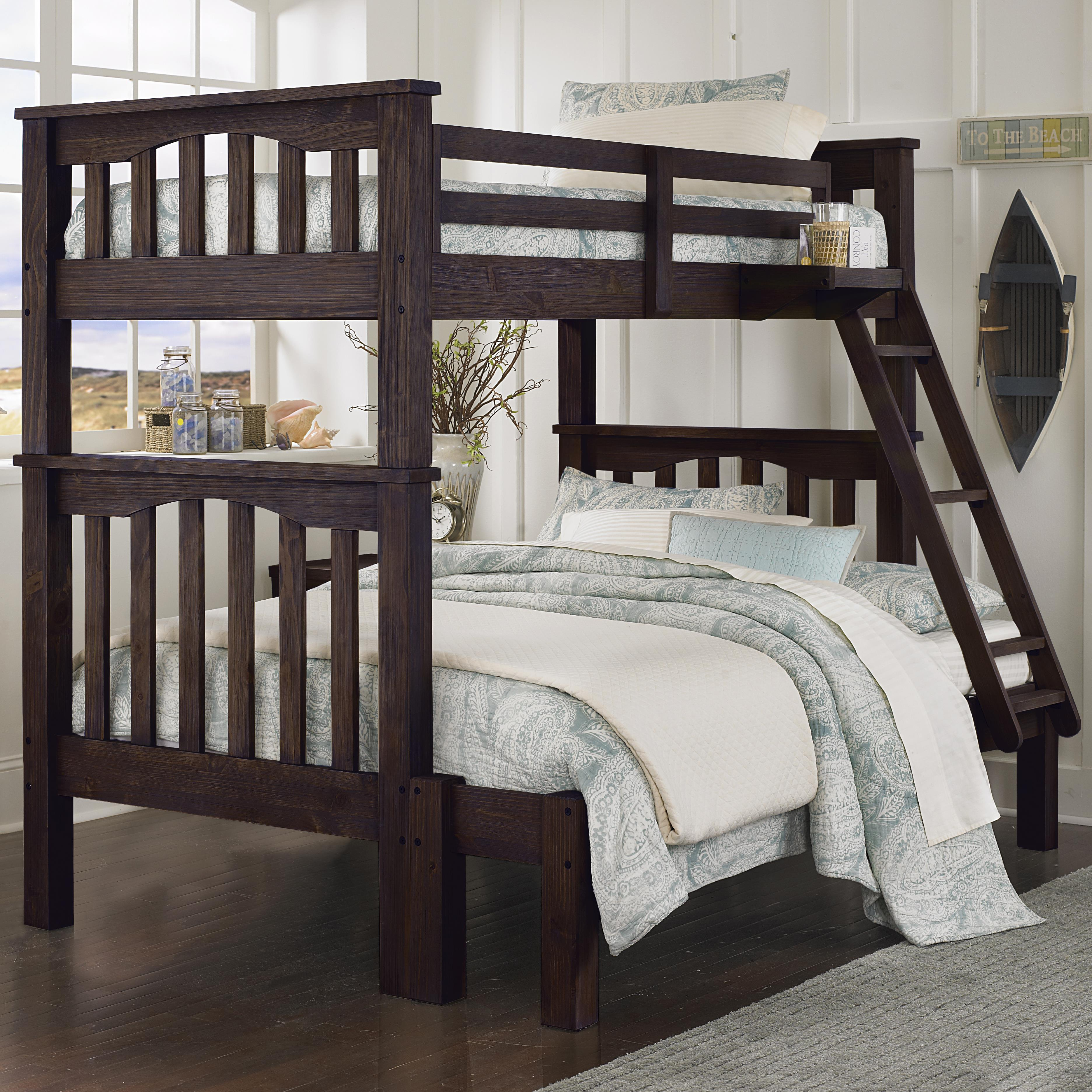 NE Kids Highlands Harper Twin Over Full Bunk Bed - Item Number: 11055+11535