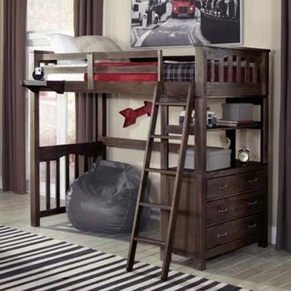 Highlands Twin Loft Bed by NE Kids at Stoney Creek Furniture