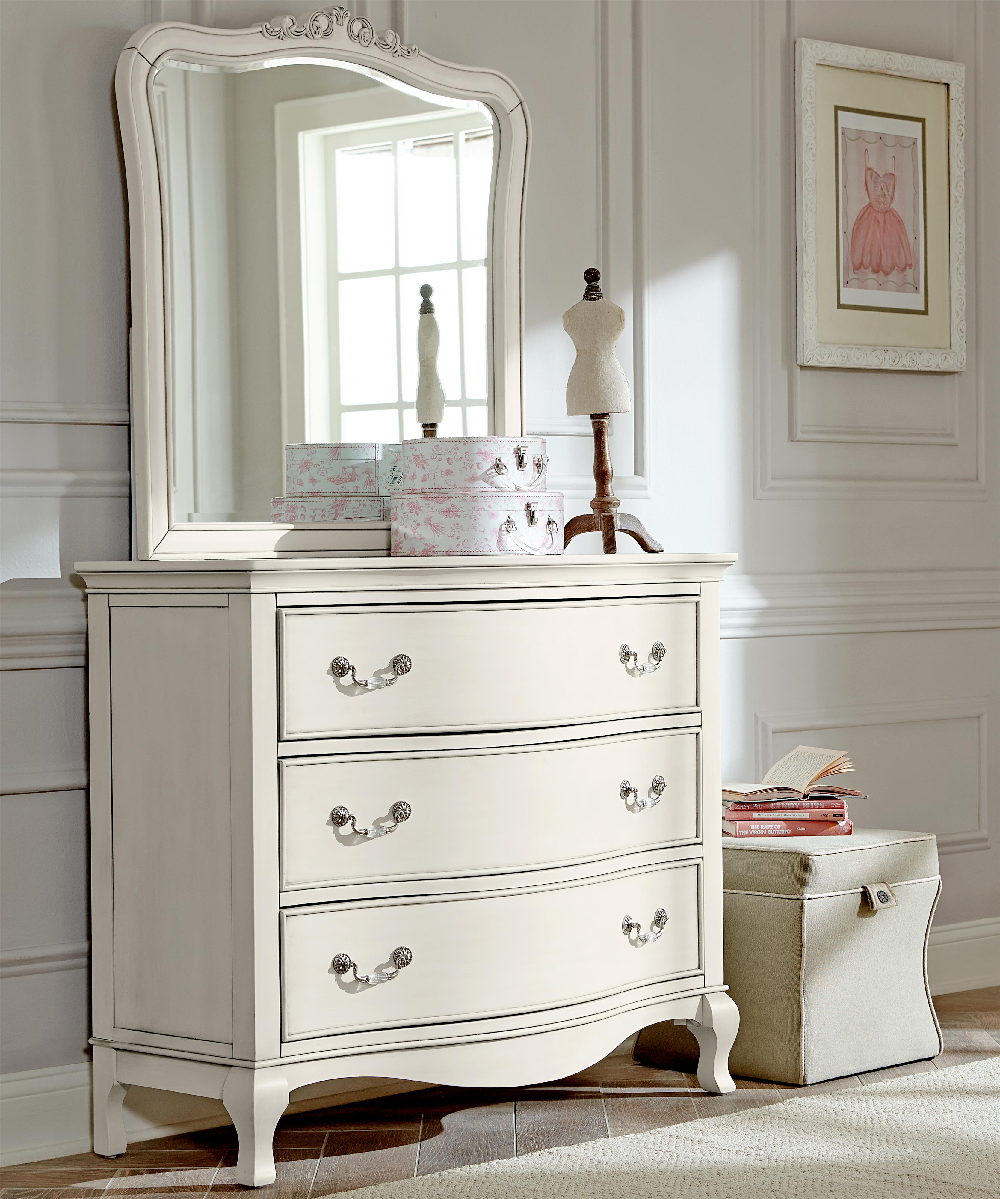 NE Kids Kensington Single Dresser and Mirror Set - Item Number: 20505+10