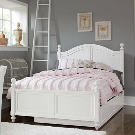 Lake House Full Bed with Trundle by NE Kids at Stoney Creek Furniture