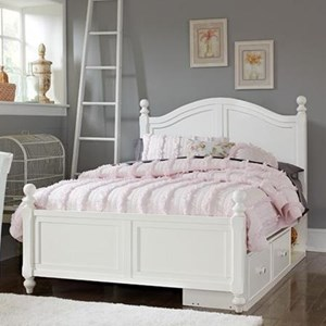 Full Payton (Arch) Bed + Storage Unit