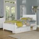 NE Kids Lake House Full Kennedy (Panel) Bed + Storage Unit - Item Number: 1025N+1580