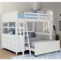 NE Kids Lake House Lofted Full Bed with Full Lower Bed - Item Number: 1045NLFB