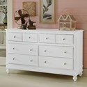 NE Kids Lake House 8 Drawer Dresser - Item Number: 1500