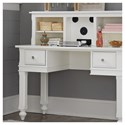 NE Kids Lake House Kids Desk and Hutch with Built in Speakers
