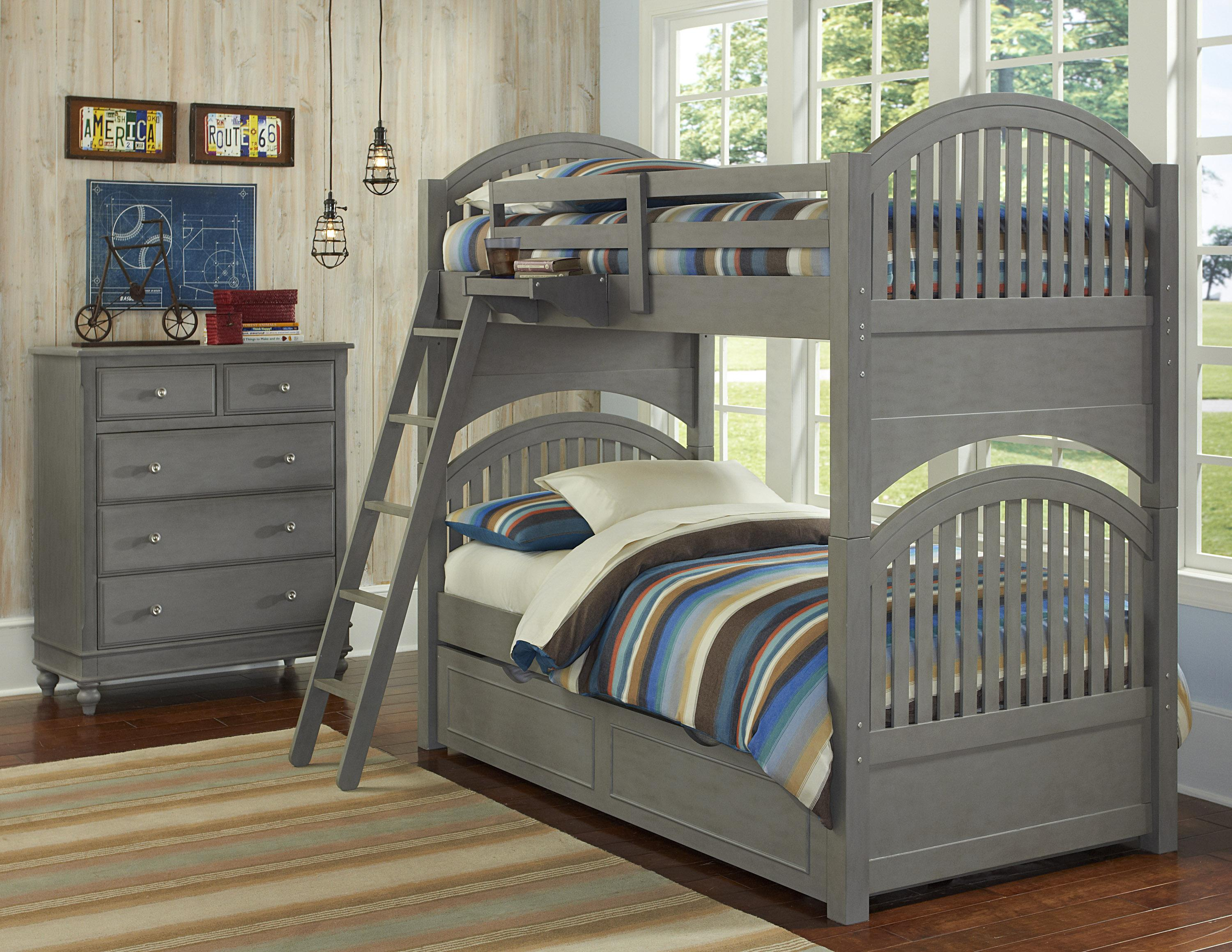 NE Kids Lake House Twin Trundle Bunk Bed  - Item Number: 200 T Bunk Bed Group 1