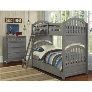 Twin Trundle Bunk Bed
