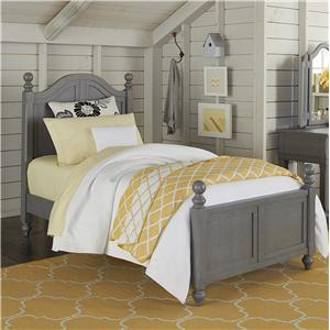 NE Kids Lake House Twin Payton (Arch) Bed