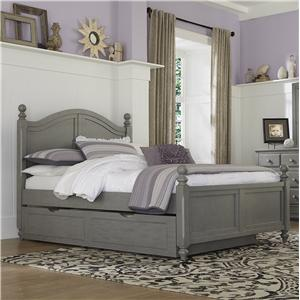 NE Kids Lake House Full Payton (Arch) Bed + Trundle