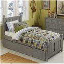 NE Kids Lake House Twin Kennedy (Panel) Bed + Trundle - Item Number: 2020+2570