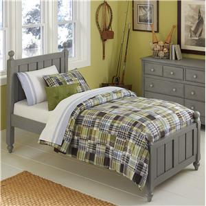NE Kids Lake House Twin Kennedy (Panel) Bed
