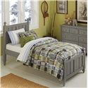 NE Kids Lake House Twin Kennedy (Panel) Bed - Item Number: 2020