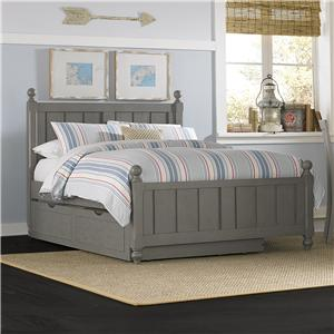 NE Kids Lake House Full Kennedy (Panel) Bed + Trundle