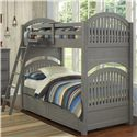 NE Kids Lake House Adrian Twin over Twin Bunk + Trundle - Item Number: 2031+2570