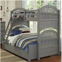 NE Kids Lake House Adrian Twin over Full Bunk + Trundle - Item Number: 2035+2570