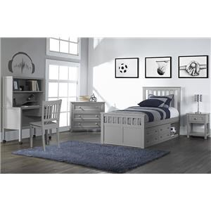 Captains Bed With Side Storage
