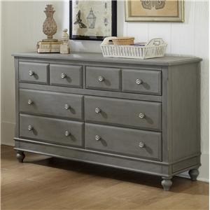 NE Kids Lake House 8 Drawer Dresser