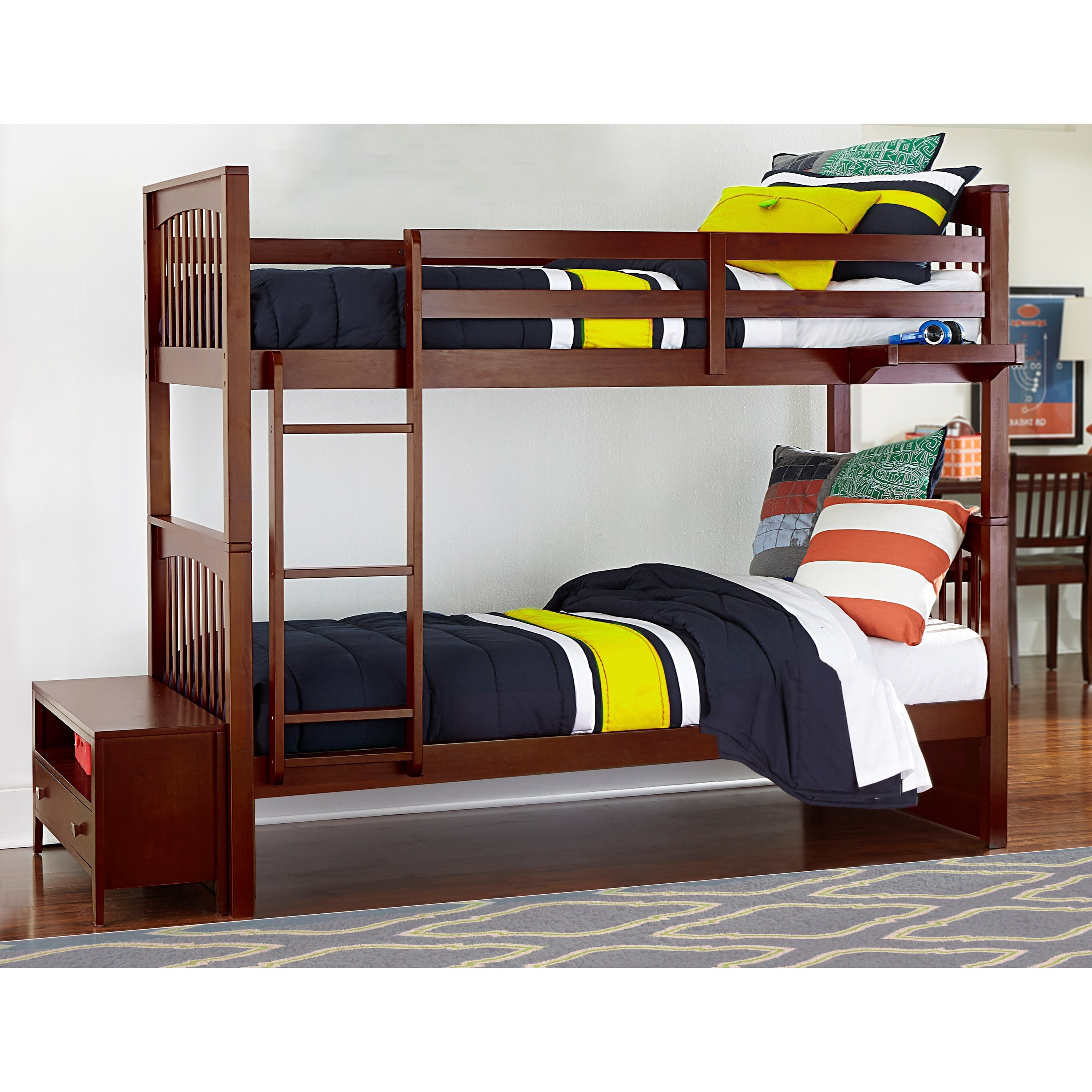 world over full merlot bunk discovery furniture bed mission