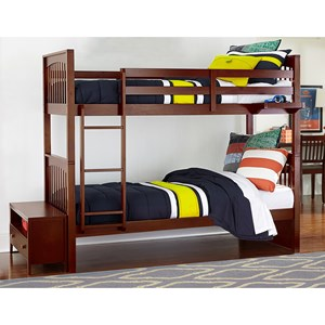 NE Kids Pulse Full over Full Bunk Bed