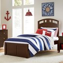 NE Kids Pulse Twin Arch Bed - Item Number: 32021N