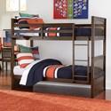 NE Kids Pulse Twin Over Twin Bunk Bed - Item Number: 32040N