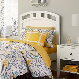 NE Kids Pulse Twin Arched Headboard