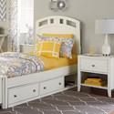 NE Kids Pulse Panel Bed - Item Number: 33021N+33570