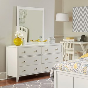 NE Kids Pulse Dresser and Mirror Set