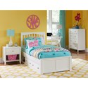 NE Kids Pulse Contemporary Chest with Five Drawers