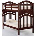 NE Kids School House Jordan Twin over Twin Bunk Bed - Item Number: 4010BUNK