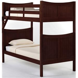 NE Kids School House Taylor Twin over Twin Bunk Bed