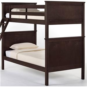 NE Kids School House Casey Twin over Twin Bunk Bed
