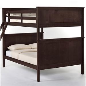 NE Kids School House Casey Full over Full Bunk Bed