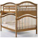 NE Kids School House Jordan Full over Full Bunk Bed - Item Number: 6015BUNK