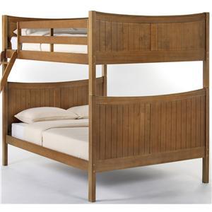 NE Kids School House Taylor  Full over Full Bunk Bed