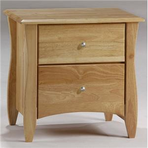 NE Kids Spice Natural Clove Nightstand