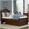 NE Kids Walnut Street Twin Morgan Arch Bed - Item Number: 9010+9090