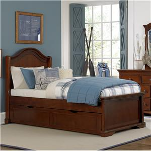 NE Kids Walnut Street Twin Morgan Arch Bed
