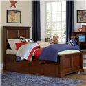 NE Kids Walnut Street Twin Devon Panel Bed - Item Number: 9020+9560