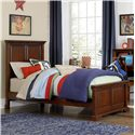 NE Kids Walnut Street Twin Devon Panel Bed - Item Number: 9020