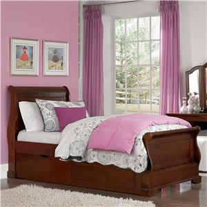 NE Kids Walnut Street Twin Riley Bed