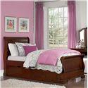 NE Kids Walnut Street Twin Riley Bed - Item Number: 9030+9560