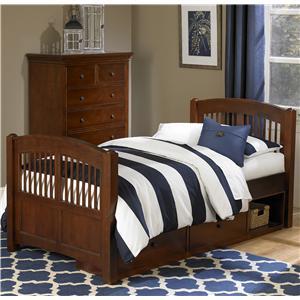 NE Kids Walnut Street Twin Hayden Bed