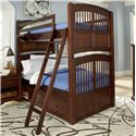 NE Kids Walnut Street Twin Over Twin Bunk Bed - Item Number: 9051+9090