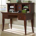 NE Kids Walnut Street Desk with Hutch - Item Number: 9540+50