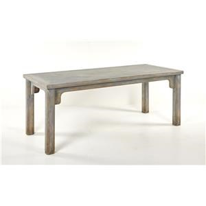 Sienna Dining Table Antique Grey Blue